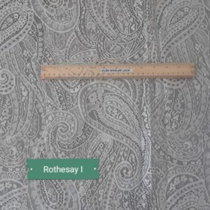 Rothsay Lace Curtain Yardage Closeup