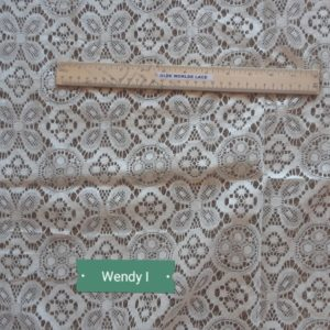 Wendy Close Up Lace Curtain Design