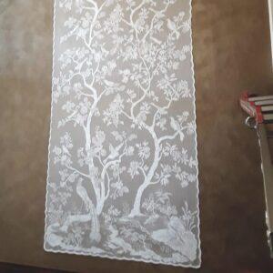 Paradiso Nottingham Lace Curtailn Panel
