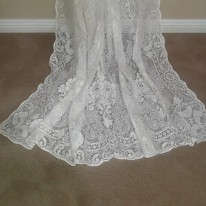 Melrose Cotton Lace Curtain