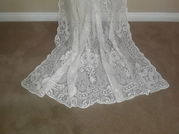 Melrose Cotton Lace Curtain