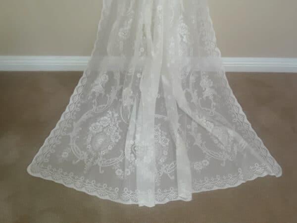 Rebecca Cotton Lace Curtain Design