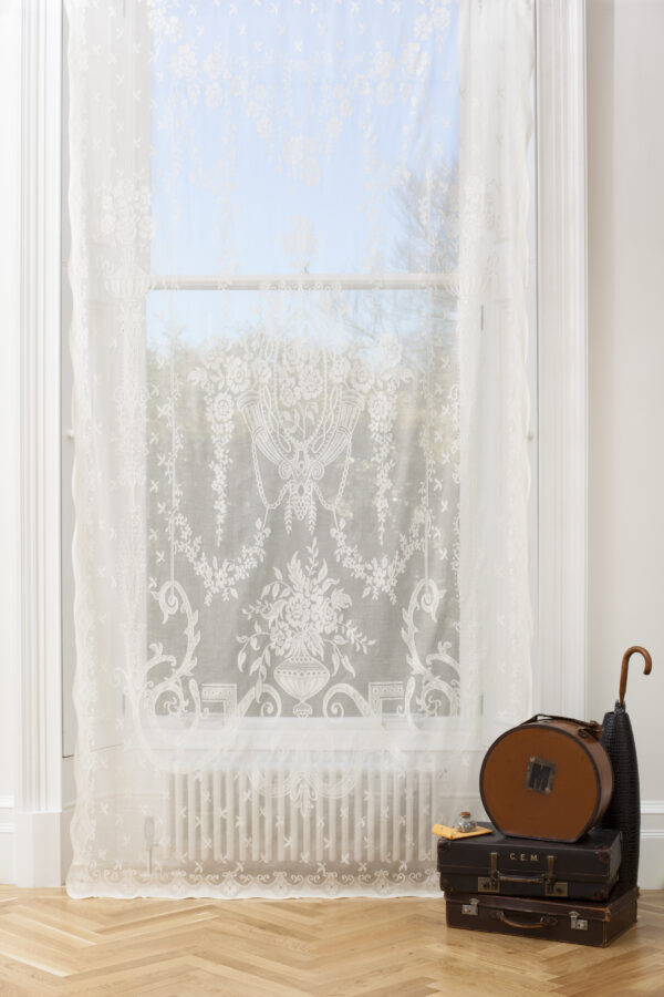Dundee Madras Cotton Lace Curtains Design