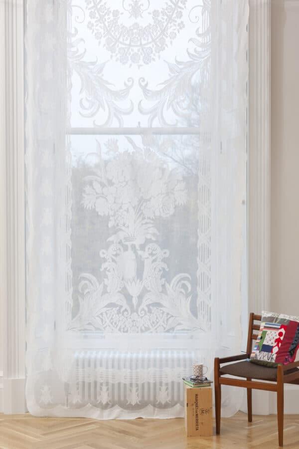 Vanessa Madras Lace Curtain Panel