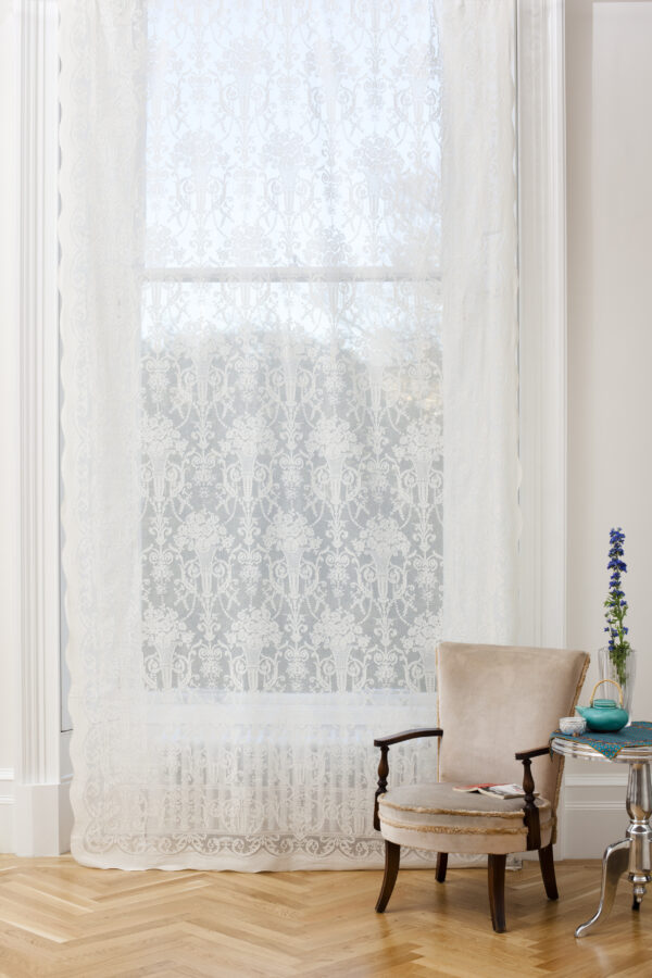 Pearl Madras Lace Curtains Design