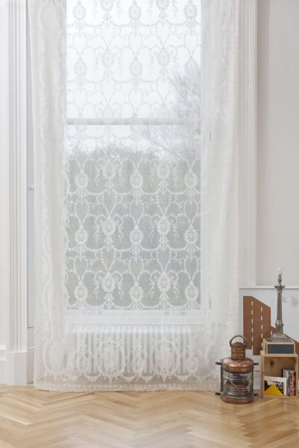 Rebecca Cotton Lace Curtain Panel