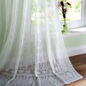 Arran Madras Lace Curtain Design