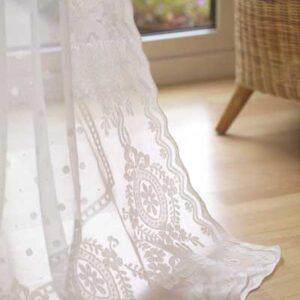 Nairn Madras Lace Curtain Design