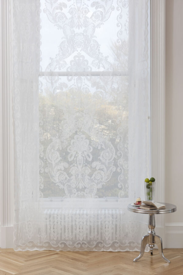Emilia Madras Lace Curtain Design