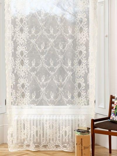 Lindsay Cotton Lace Curtain Design