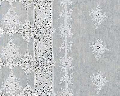 Leven Cotton Lace Curtain Design